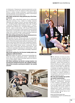 Business Women nr 31 - 2 strona artykułu o klinice urody Beauty Duty