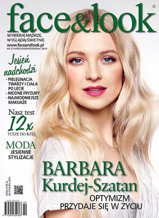 Okładka Face&Look, Nr 23, Wrzesień/Październik 2016