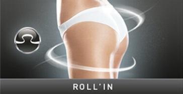 Stymulacja Roll In zabiegu Lipomassage