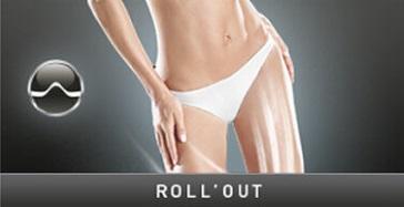 Stymulacja Roll Out zabiegu Lipomassage