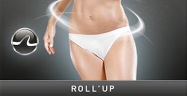 Stymulacja Roll Up zabiegu Lipomassage