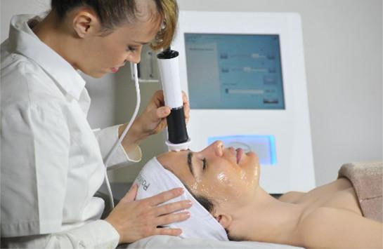 Zabieg pielęgnacji skóry twarzy