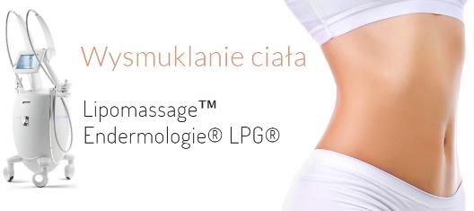 Wysmuklanie ciała - Lipomassage, Endermologie LPG