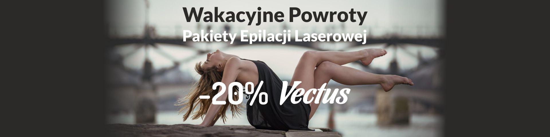 Epilacja laserowa Vectus - jesień - promocja