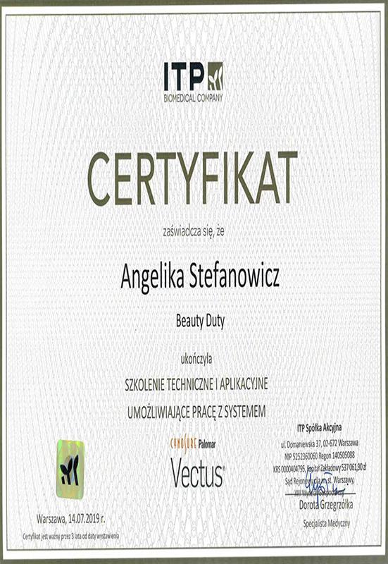 Angelika Stefanowicz – Vectus