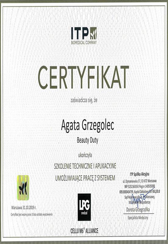 Agata Grzegolec – LPG