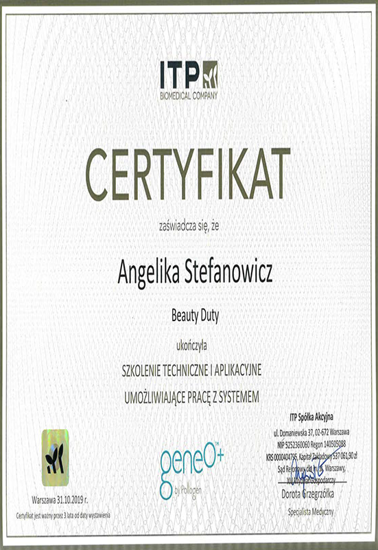 Angelika Stefanowicz – GeneO