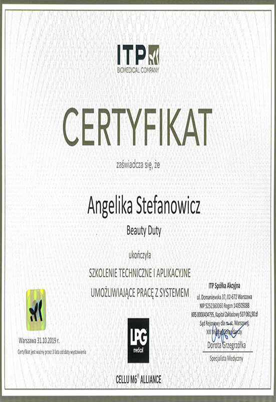 Angelika Stefanowicz – LPG